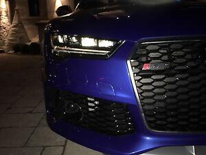 2017 BLUE AUDI RS7