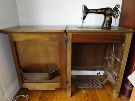 Antique Singer Sewing Machine For Sale Antiques Art