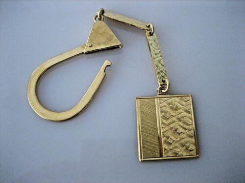 ESTATE VINTAGE 18K SOLID YELLOW GOLD ART DECO KEY CHAIN 11.4 GRAMS