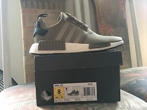 NMD R1 Size 8 Olive Trail (cash only)