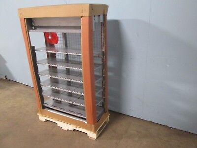 New Harbor Ind Flex Frame 2 Commercial 36w Low Profile Cigarette Display Case