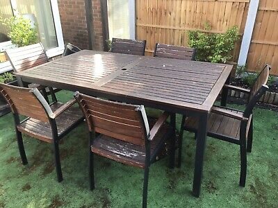 Garden Furniture Used Table & Chairs