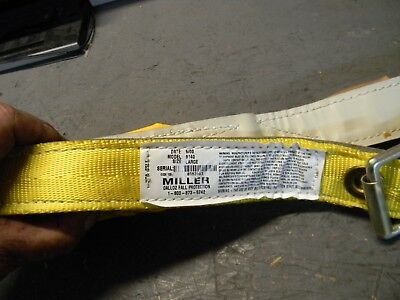 Miller Dalloz Duraflex Fall Protection Safety Belt 9140 Large