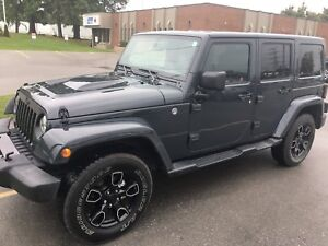 2018 Jeep Unlimited Altitude Edition 4x4
