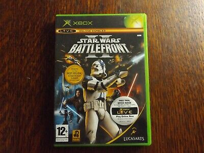 Star Wars Battlefront II (2) -  Original Xbox game - With Manual