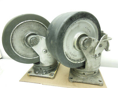 Aerol Scrhd1256 5 12 X 12 Heavy Duty Aluminum Caster Wheel