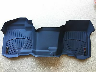Weathertech Digital Fit Black Front Floor Mat 08 13 Chevy Silverado 1500 3500