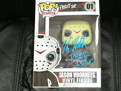 KANE HODDER Signed Jason Voorhees FUNKO POP Friday the 13th
