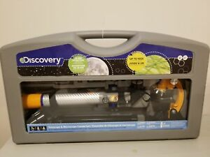 Discover Telescope/Microscope set. Never been used.