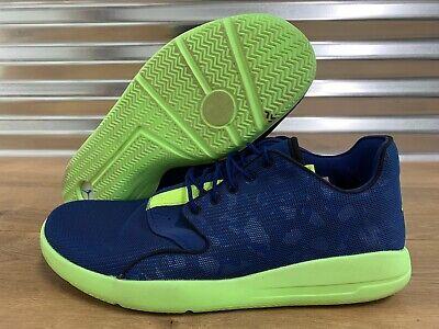 Nike Air Jordan Eclipse Basketball Shoes Blue Green SZ 12 ( 724010-406 )