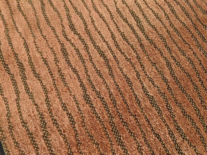 """Jack Lenor Larsen """"TANGO"""" Fabric 6 yards!! Mid-Century Modern Grospoint Texture"""