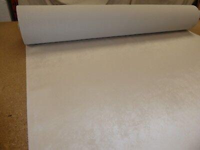 IVORY CREAM - Marbled design Velvet Upholstery / Curtain Fabric