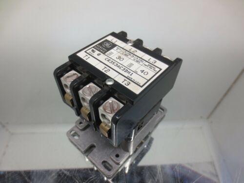 GENERAL ELECTRIC CR353AC3DH1 DEFINITE PURPOSE CONTACTOR