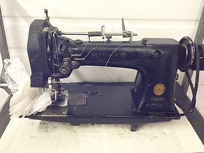 Singer 112w145 Two Needle With Mansew Ruffler Industrial Sewing Machine