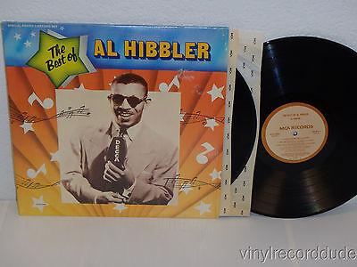 AL HIBBLER The Best Of 2x LP MCA Records MCA2-4098 (1976) NM in SHRINK (Best Record In Al)