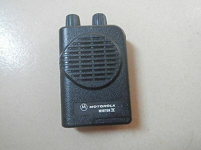 Motorola Minitor Iv Uhf Fire Pager 458.000-463.999 Mhz Ao4kus7239 Free Programm