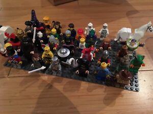Lot de minifigurines lego mix vintage/neuf