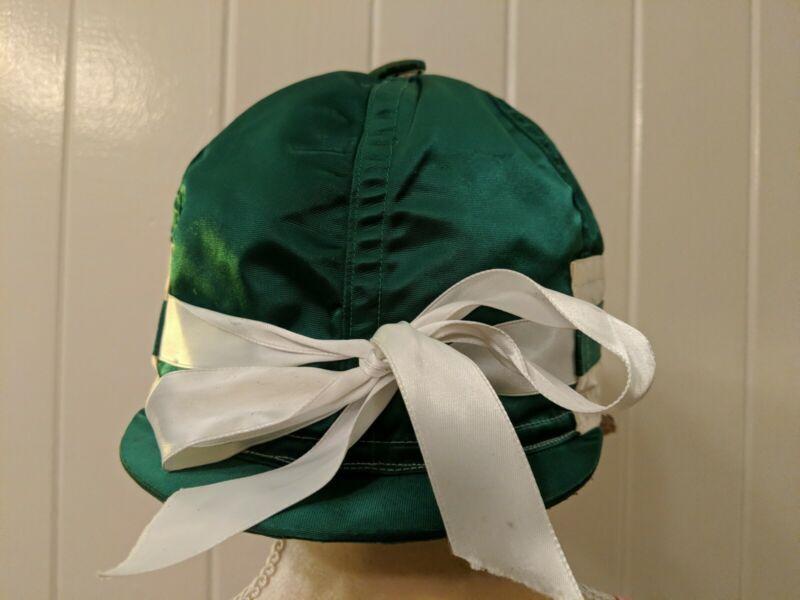 Rare Vintage Taylor Silks Satin Hat Cover