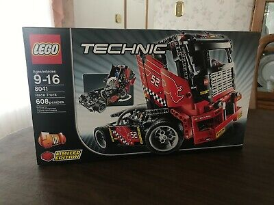 LEGO Technic 8041 Race Truck - Limited Edition, Retired, 100% Complete