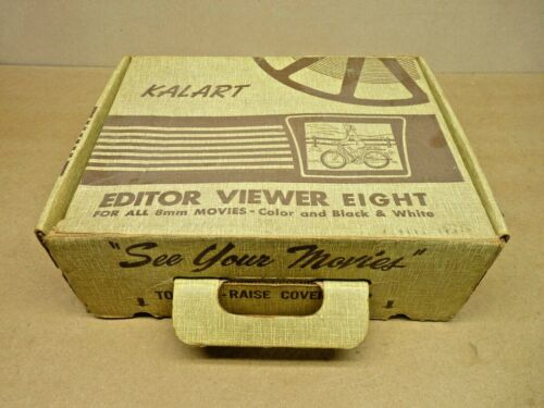 Kalart Editor Viewer Eight for 8mm Film Movies