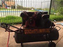 Renegade twin cylinder air compressor Marsden Logan Area Preview