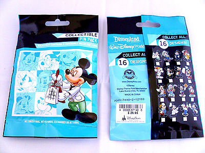 Disney * MICKEY - PROFESSIONS * New & Sealed * 5-pin Mystery Pin Pack