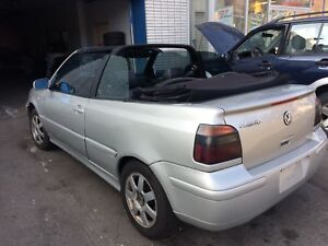2001 Volkswagen Cabrio Only 150000 kms $ 2450  .O.B.O.