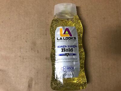 L.A. LOOKS Styling Gel Mega Mega Hold, 20 OZ (Pack of 2) - Looks Mega Hold Styling Gel