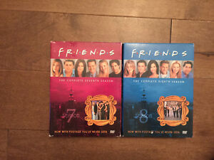 Friends DVD's-seasons 7 and 8
