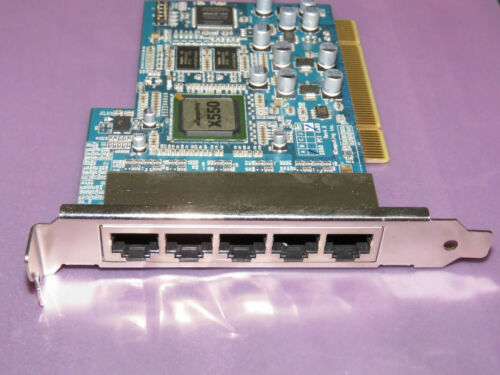 Ncomputing X550 PCI Card 5 Port - Excellent condition with Warranty