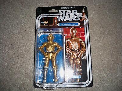 STAR WARS 6 Inch C-3PO 40th Anniversary Black Series Figure Hasbro MOC