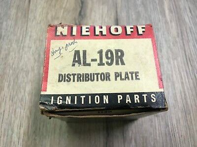 """NEW NIEHOFF """"IGNITION PARTS"""" DISTRIBUTOR PLATE AL-19R"""