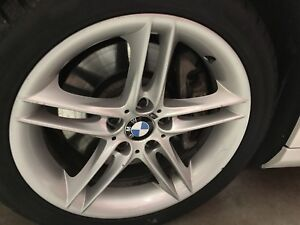 bmw m package rims 18''  8-9j