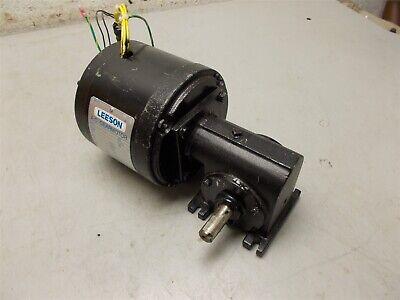Leeson Gearmotor Cat. Pr980236 3phase 208vac 13hp 30min Duty