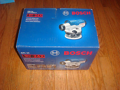 Bosch Gol24  Automatic Optical Level New
