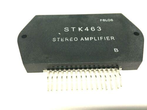 STK463 Power Amplifier + Heat Sink Compound Original SANYO