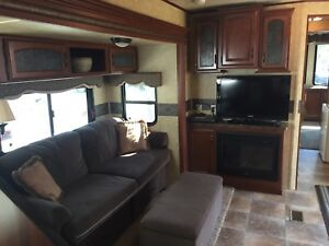 Destination trailer at Candle Lake Golf RV Park
