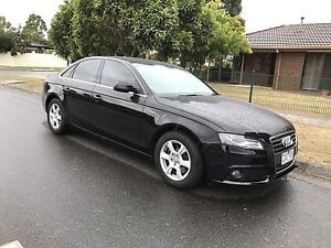 2012 Audi A4 1.8L Turbo MY12 B8 7 Speed Auto with RWC Mill Park Whittlesea Area Preview
