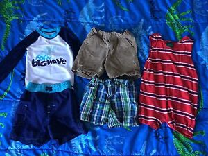 24 month boys shorts and swim outfit