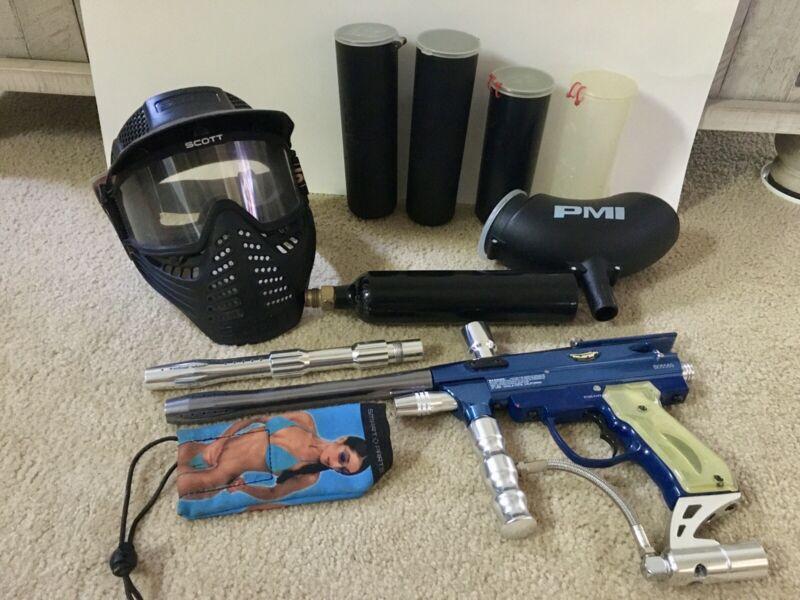 JT Excellerator Electric Trigger Painball Gun Marker Kit