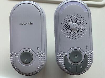 Motorola MBP7 Wireless Audio Baby Monitor