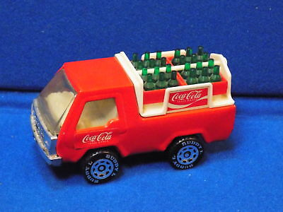 Vintage 1982 Buddy L Coca-Cola Delivery Truck with Bottles Coke