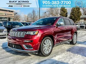 2018 Jeep Grand Cherokee 4X4, NAV, APPLE CARPLAY, SUNROOF, HEATE