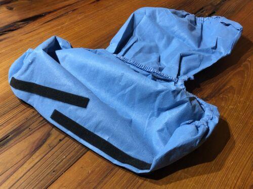 -CASE- 40 CardinalHealth Convertors FullGuard Impervious High Top Shoe Covers XL