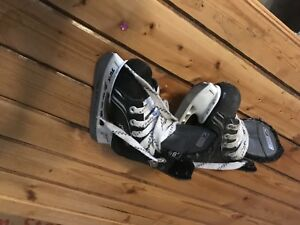Kids hockey skates size 8