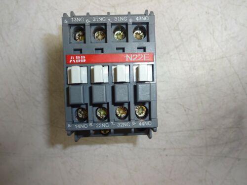 ABB N22E R84 CONTACTOR RELAY