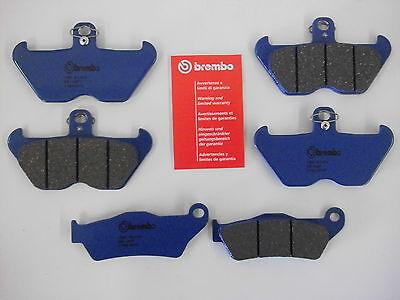 Brembo organi. Bremsbeläge Bremsbacken vorne + hinten BMW R 1150 GS / R 1200 C
