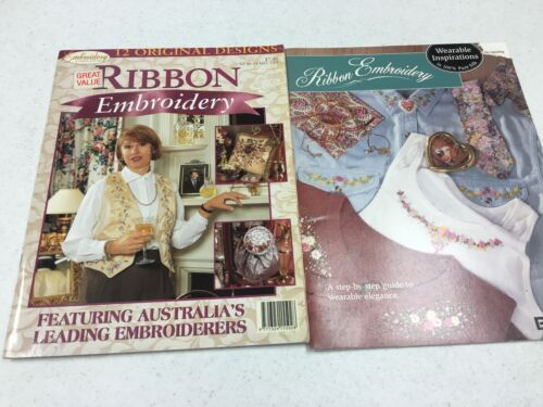 Assorted Ribbon Embroidery Booklets