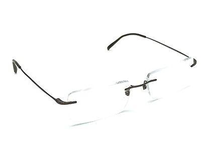 Ray-Ban Titanium RB 8647 1020 Bronze Brown Rimless Rx Eyeglasses Frame 52-17 140
