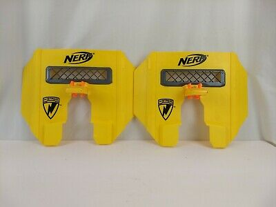 2 Nerf N- Strike stampede ECS shields Fits on most blasters